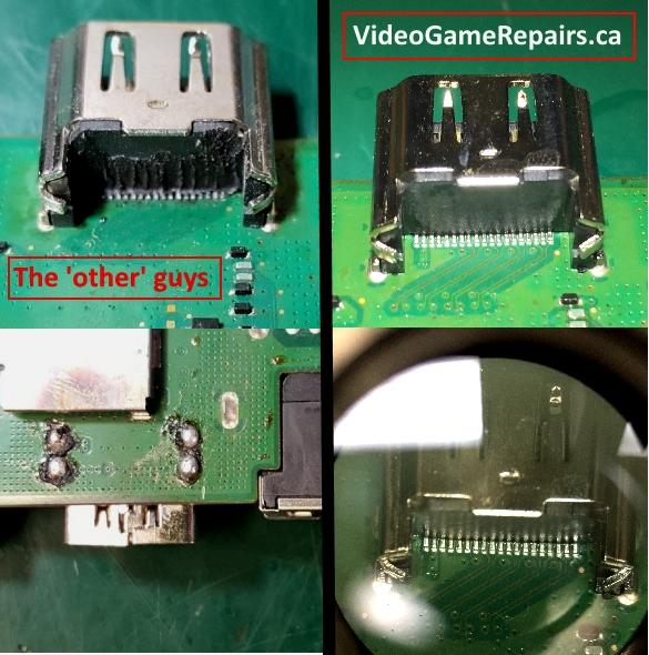 Hdmi Port PS4 repair Videogamerepairs quality work